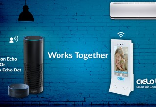Cielo Breez works with Amazon Alexa