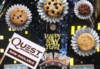 Happy New Year Quest Protein Cookie