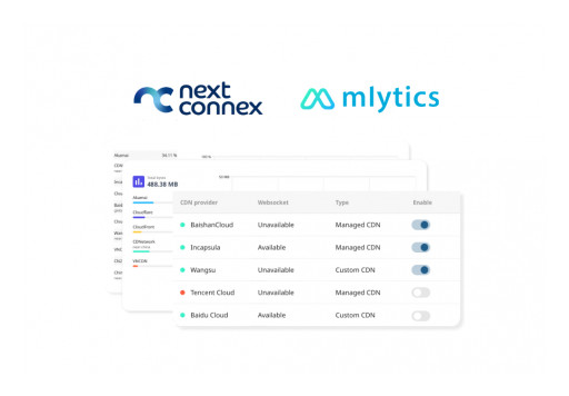 Intelligent Multi CDN Arrives in UK With Next Connex and mlytics Partnership