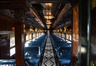 Colebrookdale Railroad - interior