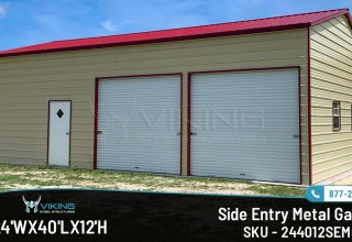 Side-Entry-Metal-Garages-by-Viking-Steel Structures