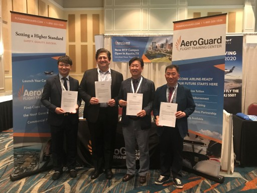 AeroGuard Flight Training Center Announces New International Pilot Training Agreements With Korean Partners