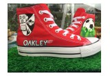 Red Converse for Oakley