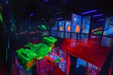 New 2-story Laser Tag Arena located inside Stars and Strikes in Dallas, GA