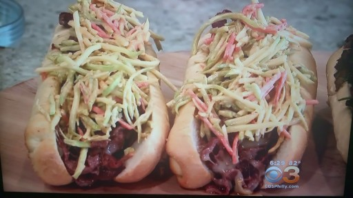 Devault Foods Chef Creates Cheesesteak For Hollywood