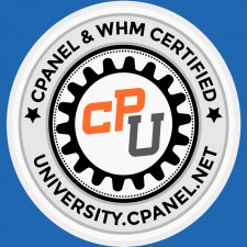 cPanel University Badge