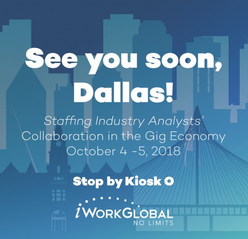 iWorkGlobal to Exhibit at 2018 Collaboration in Gig Economy Conference