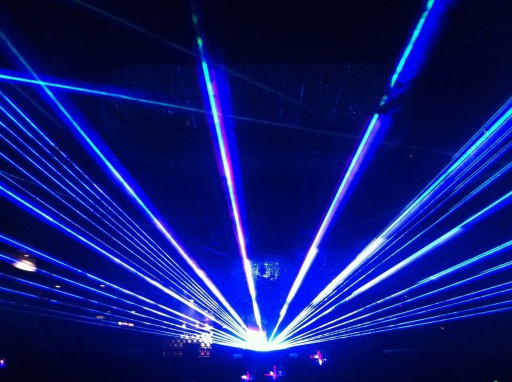 Laser Shows Are Customized, Live Experiences Created for Special Events