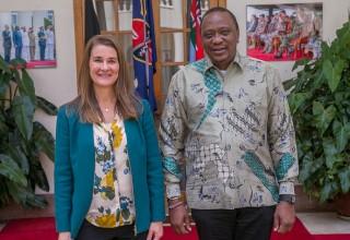President Kenyatta, Melinda Gates Agree To Improve Healthcare Access For Women And Girls