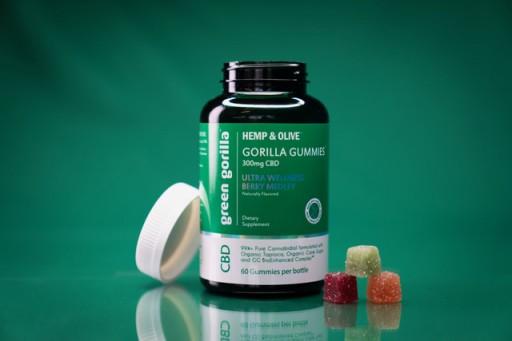 Green Gorilla Launches All-Natural, Vegan and Organic CBD 'Gorilla Gummies'