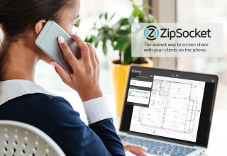 ZipSocket: The easiest way to screen share with your clients on the phone