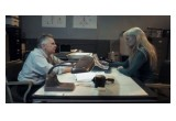 Still of actor Joe Estevez and legendary action heroine Laurene Landon