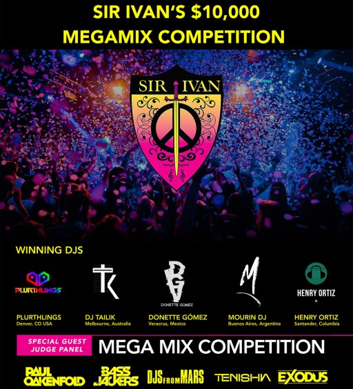 Sir Ivan's $10,000 MegaMix Competition Helps Out-of-Work DJs Around the World