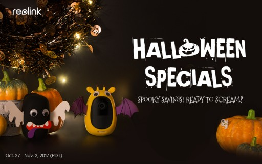 Reolink Unveils Halloween Sales, Up to $180 OFF on Top Security Products