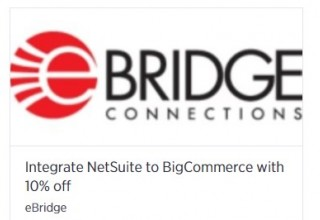NetSuite-BigCommerce 10 percent off