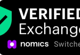 Nomics.com Verified Exchange Switcheo Badge - Black