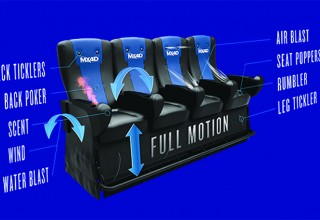 MX4D Motion EFX theatre seating explained