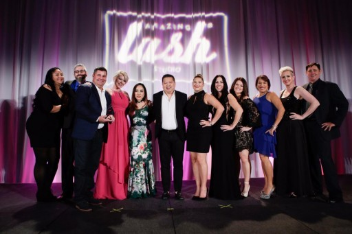 Amazing Lash Corporate Awards Individual Amazing Lash Studio Franchisees During the Be Amazing 2017 Inaugural Franchise Conference