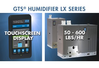 GTS Humidifier LX Series - Touchscreen