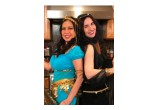 Actresses Joycelyne Lew and Vida Ghaffari