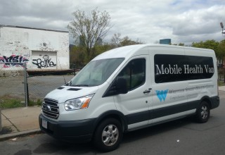 Whittier Street Mobile Health Van provides outreach to Boston's homeless and addicted