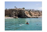 Arriving At The End of The Catalina Open Water Channel Swim