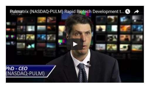 Pulmatrix's CEO Eyes $25 Billion COPD Market for Its Inhaled Drug Delivery Technology