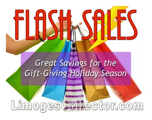 LimogesCollector.com Kicks Off the Holidays Shopping Season With Flash Sales on French Limoges Boxes