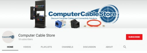 Computer Cable Store Launches Informational YouTube Channel