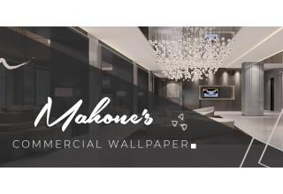 Mahone's Commercial Wallpaper Logo