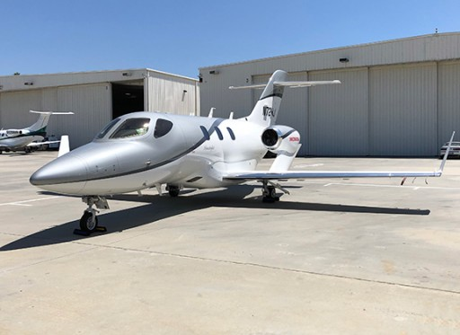 Dreamline Aviation Adds a Second HondaJet to Its Air Charter Service