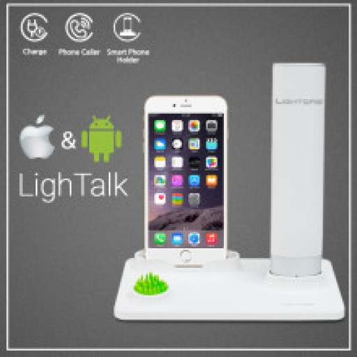 LighTalk : The Perfect Bluetooth Handset Dock For the Home or Office