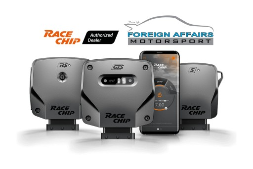 Foreign Affairs Motorsport Has Partnered With RaceChip, a Renowned German ECU Tuner Specializing in Engine Management Software Upgrades