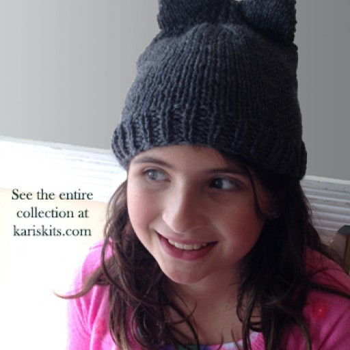 Kari's Kits Debuts Hand Knit Fall 2016 Line With Cabled Kitten Collection