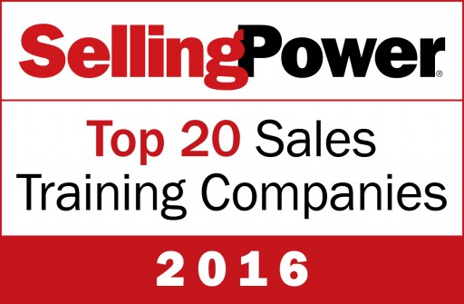 Selling Power Features the Brooks Group on 2016 Top 20 Sales Training Companies List