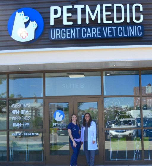 First in Maine, PetMedic Urgent Care Vet Clinic Opens Its Doors in Portland