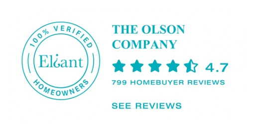 The Olson Company Joins Eliant Verified Homebuyer Reviews Platform