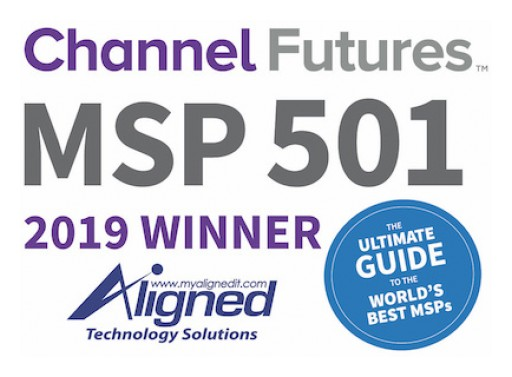 Aligned Technology Solutions Ranked Among World's Most Elite 501 Managed Service Providers