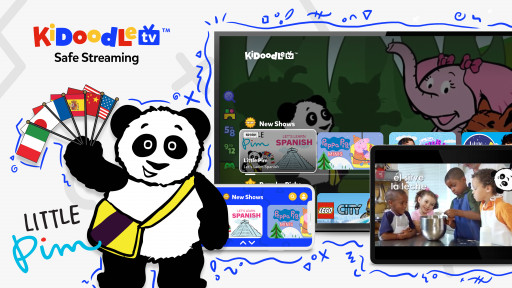 Kidoodle.TV® Welcomes Premier Language Learning Program, Little Pim