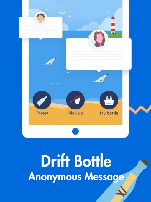 Positive Singles Releases a New Feature Called Drift Bottle