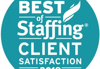 2018 Best of Staffing Client Satisfaction Award