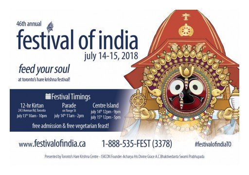 46th Annual Festival of India: Bringing a Splash of Spiritual Culture to Toronto