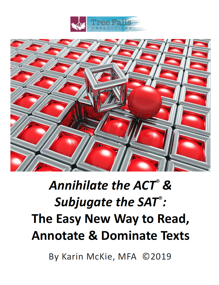 - New ACT & SAT Test Prep Book Teaches Easy Reading Comprehension