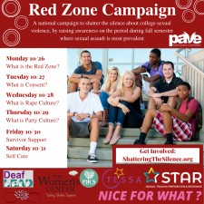 PAVE's Red Zone Campaign