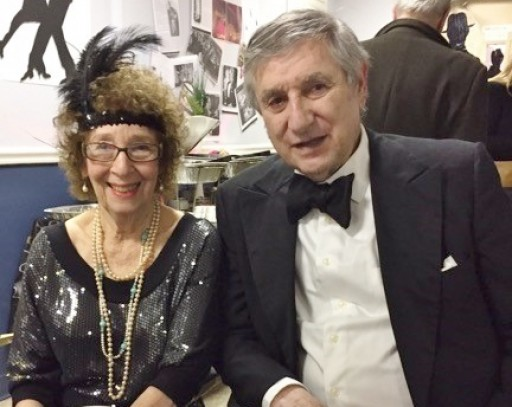 Residents of Village Apartments of the Jewish Federation Enjoy Roaring 20s New Year Celebration