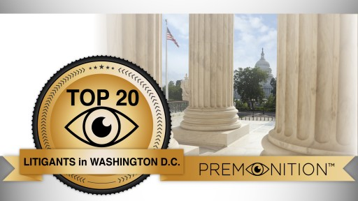 City of 80,000 Attorneys: Premonition Analytics New Survey Reveals Washington D.C.'s Highest Volume Law Firms