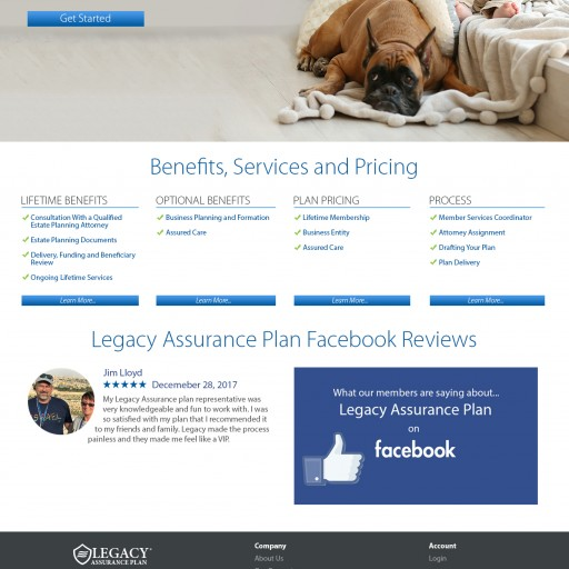 Legacy Assurance Plan Announces Launch of New Website, to Further Expand Options for Consumers