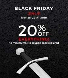Black Friday Sale at Museum Replicas | Black Friday Sale at Atlanta Cutlery
