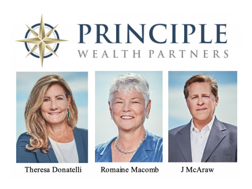 Principle Wealth Partners Welcomes Three Veteran Advisors and Supporting Team Members