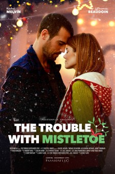 "Watch Now! Holiday Romance ""The Trouble With Mistletoe"" NOW exclusively available on Passionflix"